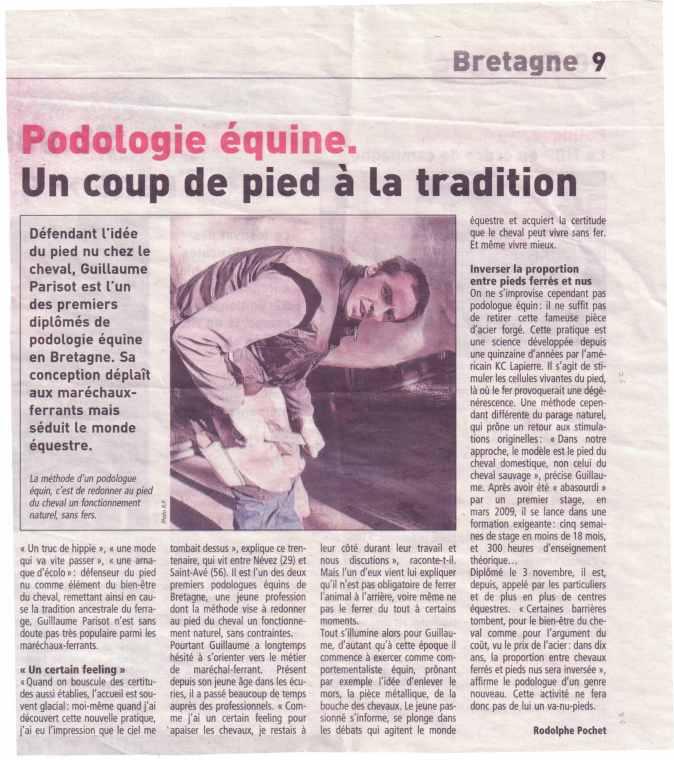 article télégramme