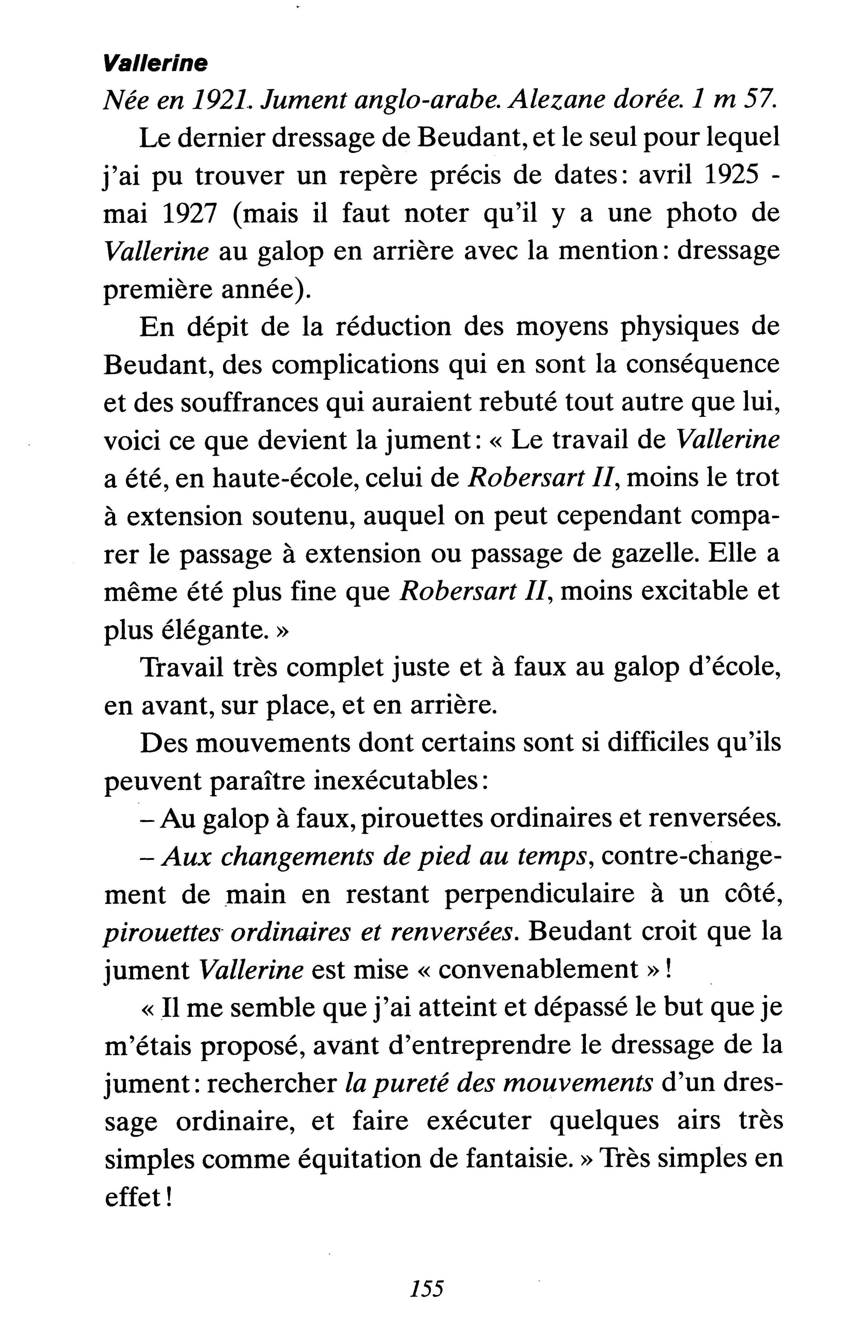 Vallerine texte
